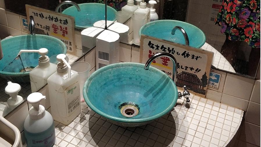 Туалеты в Японии