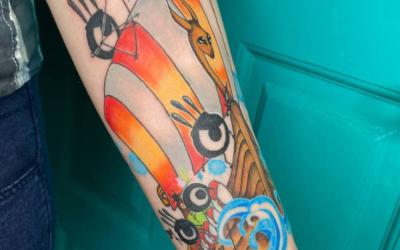 Как создавалась моя вторая татуировка